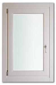Legno: abete/Frassino lamellare Laccato: bianco ral 9010 Spessori disp: 68/78/82 mm