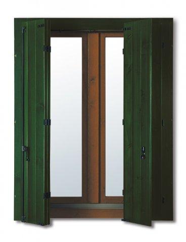 Scuri in legno bonadiman a verona - Finestre monoblocco in legno ...